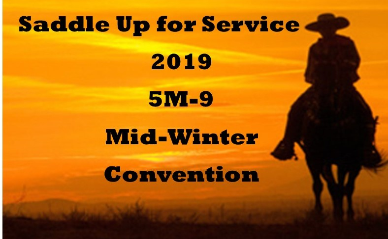 Click here for information on the 2019 5M-9 Mid-Winter -Saddle Up for Service
